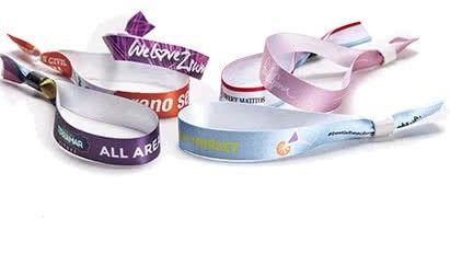 pulseras de tela personalizadas